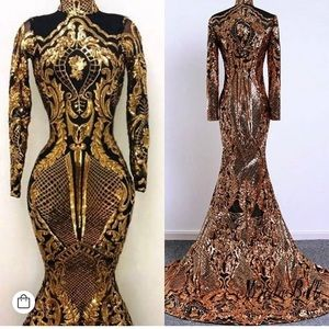 Dresses & Skirts - Gold Gown